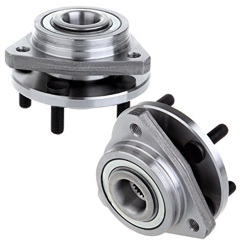 (SCITOO Wheel Bearing and Hub Assembly 513138 Compatible with 95-06 Chrysler 95-06 Dodge Stratus 96-00 Plymouth Breeze Wheel Hubs 5 Bolts (2 Pads) )