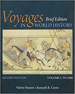 Bundle: Voyages in World History, Volume I, Brief, 2nd + LMS Integrated for MindTap History, 1 term (6 months) Printed Access Card