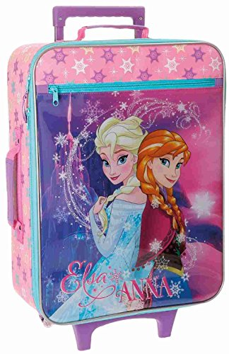 Maleta Trolley Infantil 50 cm 2 R Frozen Magic