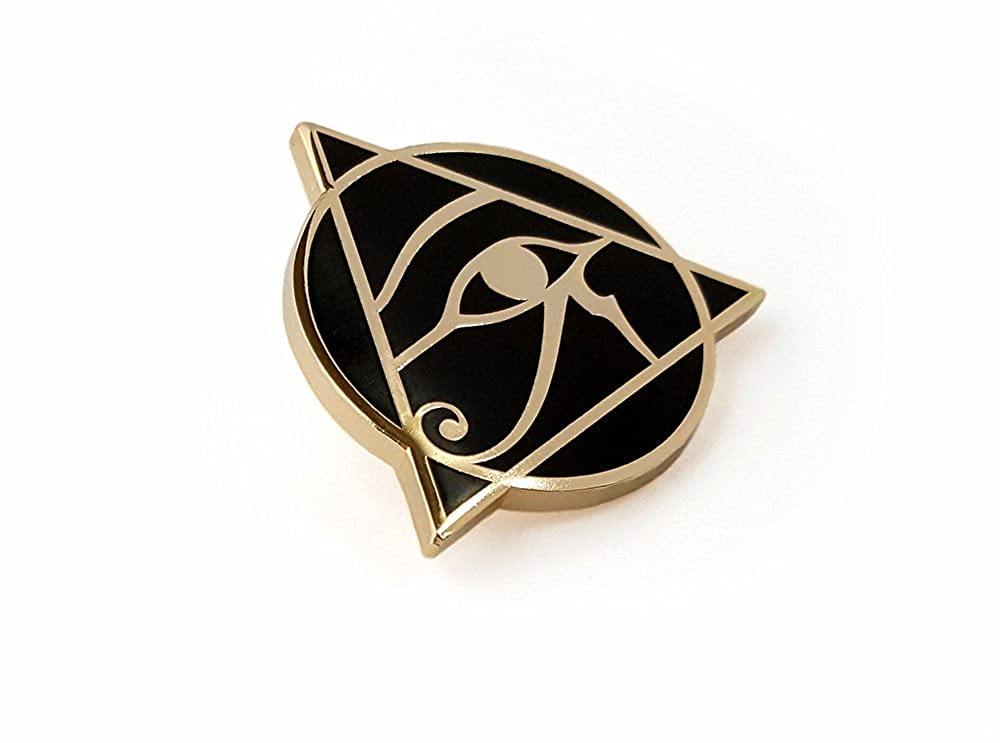 Pinsanity Egyptian Eye of Horus Enamel Lapel Pin