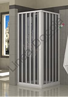Forte Mampara de Ducha 70x90CM H185 PVC Mod. Energy Central: Amazon.es: Hogar