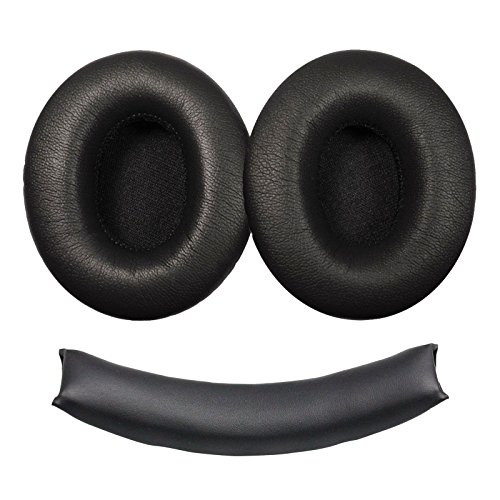 EEEKit Replacement Ear Pads Earpad Cushion Cup Cover and Headband Cushion for Monster Beats Dr. Dre Studio 1.0 Headphones