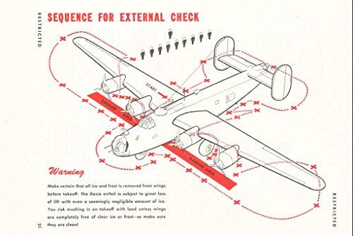 U.S. ARMY AIR FORCES B-24 LIBERATOR BOMBER PILOT TRAINING FLIGHT ()