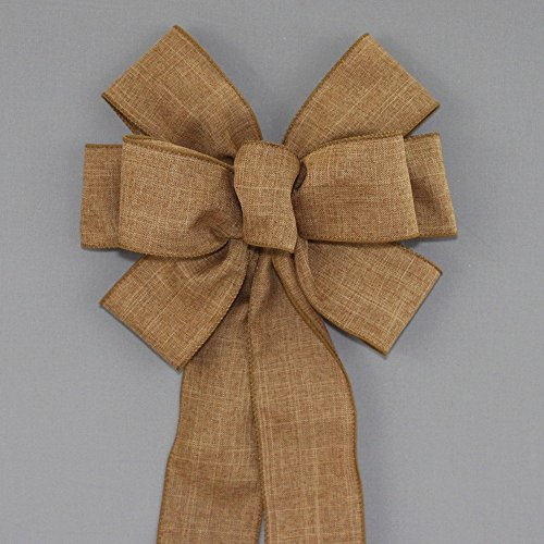 Celebration Caramels (Caramel Rustic Fall Wreath Bow - Color Options - available in 2 sizes)