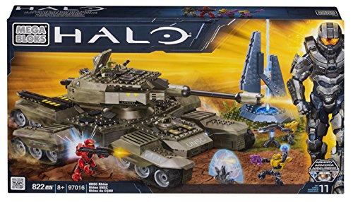 Mega Bloks Halo UNSC Rhino (Gun Fuel Rod)