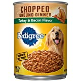 Pedigree Chunky Ground Dinner With Turkey & Bacon ...
