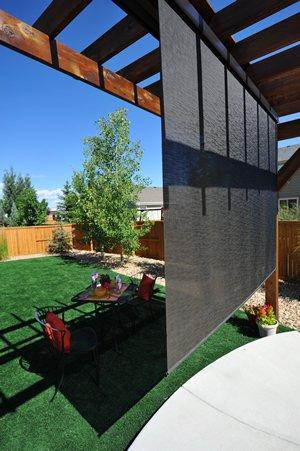 Exterior Roll Up Solar Shades Stock Size 72u0026quot; X 96u0026quot; ...