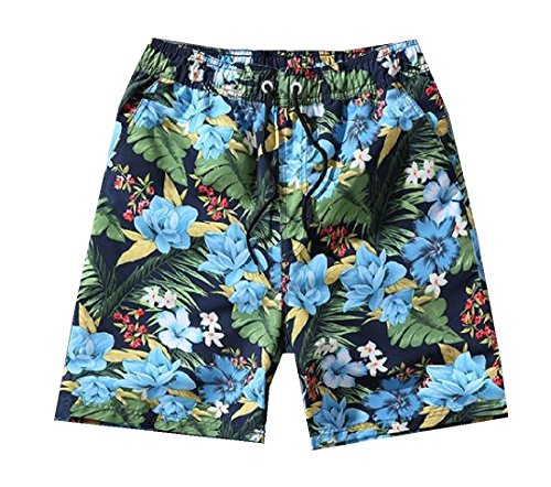 Delicious Strawberry Mens Beach Board Shorts Quick Dry Summer Casual Swimming Soft Fabric with Pocket