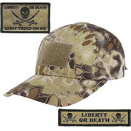 395a4a11e17 Gadsden and Culpeper KRYPTEK-Highlander Tactical Patch   Hat Bundle (2  Patches + Hat