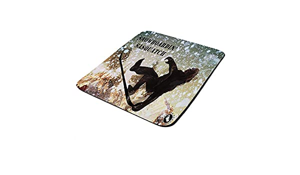 use as a Water Proof hot pad,Trivet,Mousepad Mouse Pad Thick Neoprene Rectangle for Home Office /& Gamers Atlanta Baseball