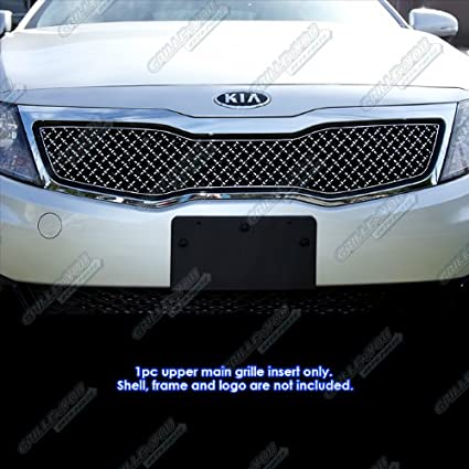 Amazon.com: For 2011-2013 Kia Optima LX/EX Stainless Steel X Mesh Blitz Grille Grill #N19-K1096XK: Automotive