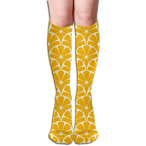 Long Stocking Lemon Women's Over Knee Thigh Winter Warm Sexy Stocks Knitting Welt -