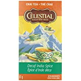 Celestial Seasonings Chai Tea India Spice DECAF -  20-count (Pack of 6)