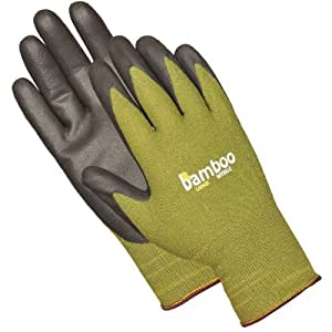 Bellingham C5371XL Rayon Derived from Bamboo With Nitrile Palm Glove, Green, Extra Large