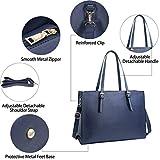 Laptop Bag for Women Waterproof Lightweight Leather