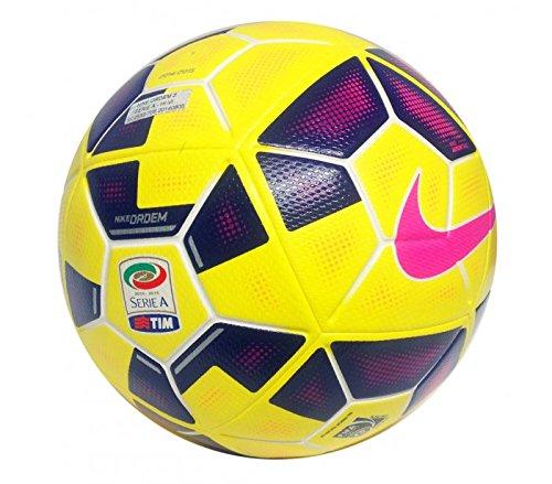 2 opinioni per Pallone Calcio Nike Ordem 2 Serie A Hi-Vis Col. Giallo Misura N.5