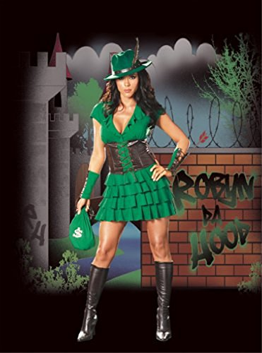 Robyn Da Hood Adult Costume - Medium -