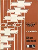 1987 CAMARO 2 VOL. SET FACTORY REPAIR SHOP & SERVICE MANUAL - INCLUDES; Standard Camaro, Sport Coupe, LT, RS, Z28, IROC-Z, Convertible - CHEVROLET 87