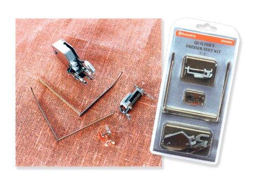 Husqvarna Viking Quilters Presser Feet Kit (Cat 7) by Husqvarna Viking