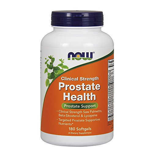 NOW Prostate Clinical Strength Softgels product image