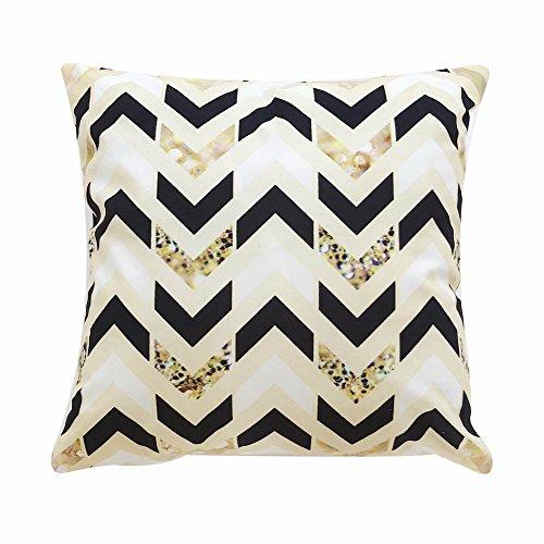 New Wave Modern Cabinet - Sunhusing Various Square Lattice Wave Pattern Shape Printed Pillowcases