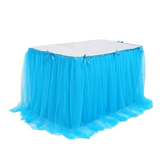 Sixcup Falda de Tul, decoración de mesas, Faldas, decoración de ...
