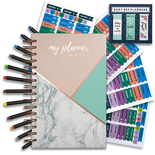 y monthly planner with bonus pens and stickers!   Achieve your  goals and improve productivity!   Busy Bee Planners ()