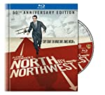 Cover Image for 'North by Northwest (50th Anniversary Edition Blu-ray Book)'
