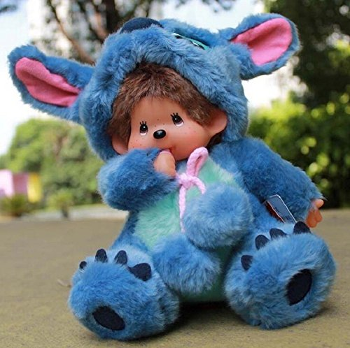 Monchhichi Plush (Hot ! Scrump Stitch Lilo Plush Toys Lilo and Stitch Stich Plush Toy Monchhichi Scrump Soft Stuffed Animals Dolls Kids Toys Gifts)