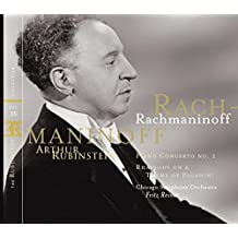 The Rubinstein Collection, Vol. 35--Rachmaninoff: Piano Concerto No. 2; Rhapsody on a Theme of Paganini; Prelude, Op. 3, No. 2