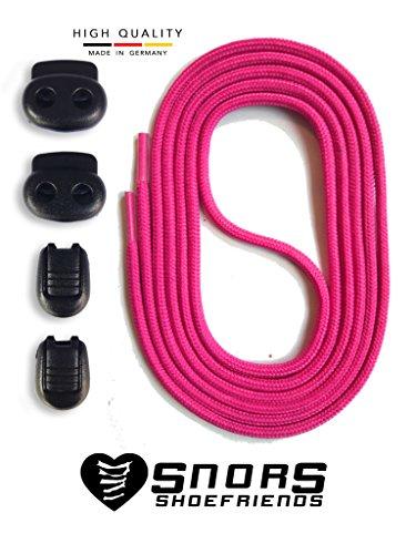 Gain Pink Sans Lacing Avec System Couleurs Élastiques 15 De Immobiliser Rapide Système Laçage Libération Temps Dentelles Autobloquants Et Lacets Snors fawqdvfx