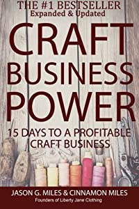 Craft Business Power: 15 Days To A Profitable Online Craft Business from CreateSpace Independent Publishing Platform