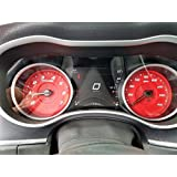 Us Speedo Daytona Edition Red Dodge Charger R/T Gauge Face for 2015-2017 160 MPH