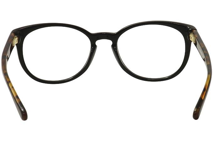 3a9a3a0d6 Coach Women's HC6102 Eyeglasses Black/Black Tortoise 51mm at Amazon Women's  Clothing store:
