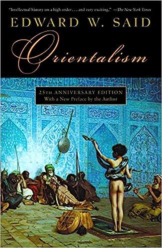Orientalism: Edward W  Said: 9780394740676: Amazon com: Books