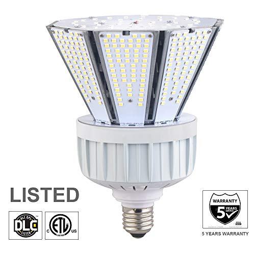 Projector Lamp Metal Halide 400w - okaybulb 80W LED Garden Corn Light Bulb for Indoor Outdoor Area E39 10400Lm 5000K Cool White,for Street Lamp Gymnasium Garage Factory Warehouse High Bay Barn Porch Backyard Super Bright