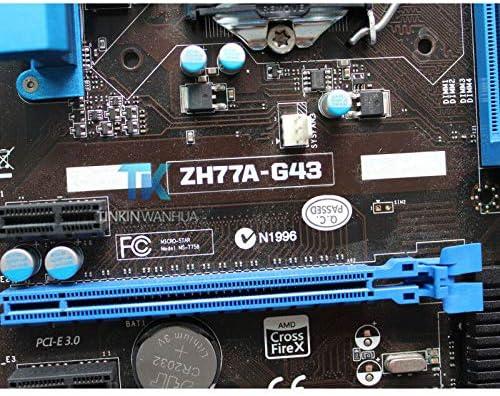 for MSI ZH77A-G43 MS-7758 Motherboard H77 LGA 1155 DDR3 USB3.0 SATA3 XU