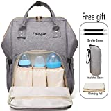 Best Diaper Bags - Diaper Bag Mummy Backpack Multi-Function Traveling Backpack Large Review