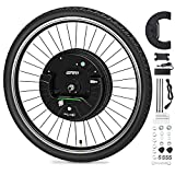 "9. GRM 26""x1.95"" Imortor 3rd GEN Wireless APP Control Mountain Bike Front Wheel Disc Brake Electric Bicycle Motor Kit 36V 350W Powerful Motor E-Bike Conversion for Android and iOS,All Bluetooth Versions"