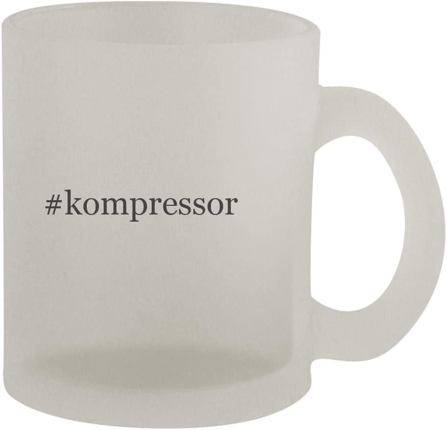 #kompressor - 10oz Hashtag Frosted Coffee Mug Cup, Frosted