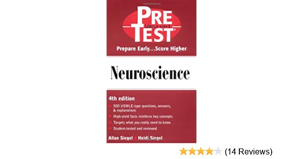 Neuroscience Pretest Self Assessment And Review 0639785327615