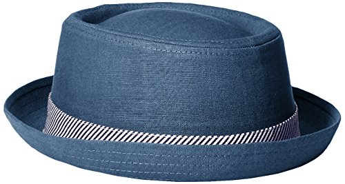 Perry Ellis Mens Round Top Fedora