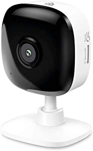 Kasa Smart 2K Indoor Camera, 4MP HD Security Camera Wireless 2.4GHz with Night Vision, Motion Detection, Cloud & SD Card Storage, Works with Alexa & Google Home, No Hub Required(KC400)