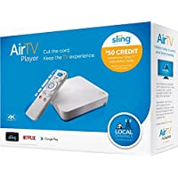 AirTV 4K Streaming Media Player with Adapter