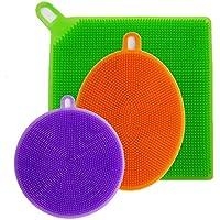3'lü Silikon Bulaşık Süngeri Seti - Better Sponge
