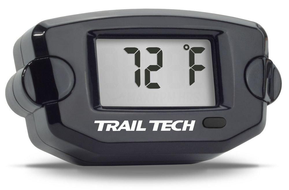 Trail Tech TTO Temperature Meter Digital Gauge 12mm CHT Spark Plug Sensor 742-ET2