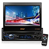 "hummer h3 2006 radio - Single DIN Head Unit Receiver - In-Dash Car Stereo with 7"" Multi-Color Touchscreen Display - Audio Video System with Bluetooth for Wireless Music Streaming & Hands-free Calling - Pyle PLTS78DUB"