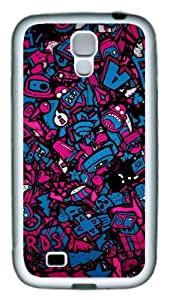 Samsung Galaxy S4 Case and Cover - Valentines Day Love TPU Silicone Rubber Case Cover for Samsung Galaxy S4 / SIV/ I9500 - White