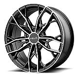 honda crv 2002 rims - Helo HE907 17x7 5x114.3 +38mm Black/Machined Wheel Rim