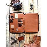 Savage Supply Co. Leather Portfolio Folder Organizer